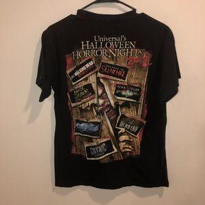 Halloween horror nights 2012 t shirt black red